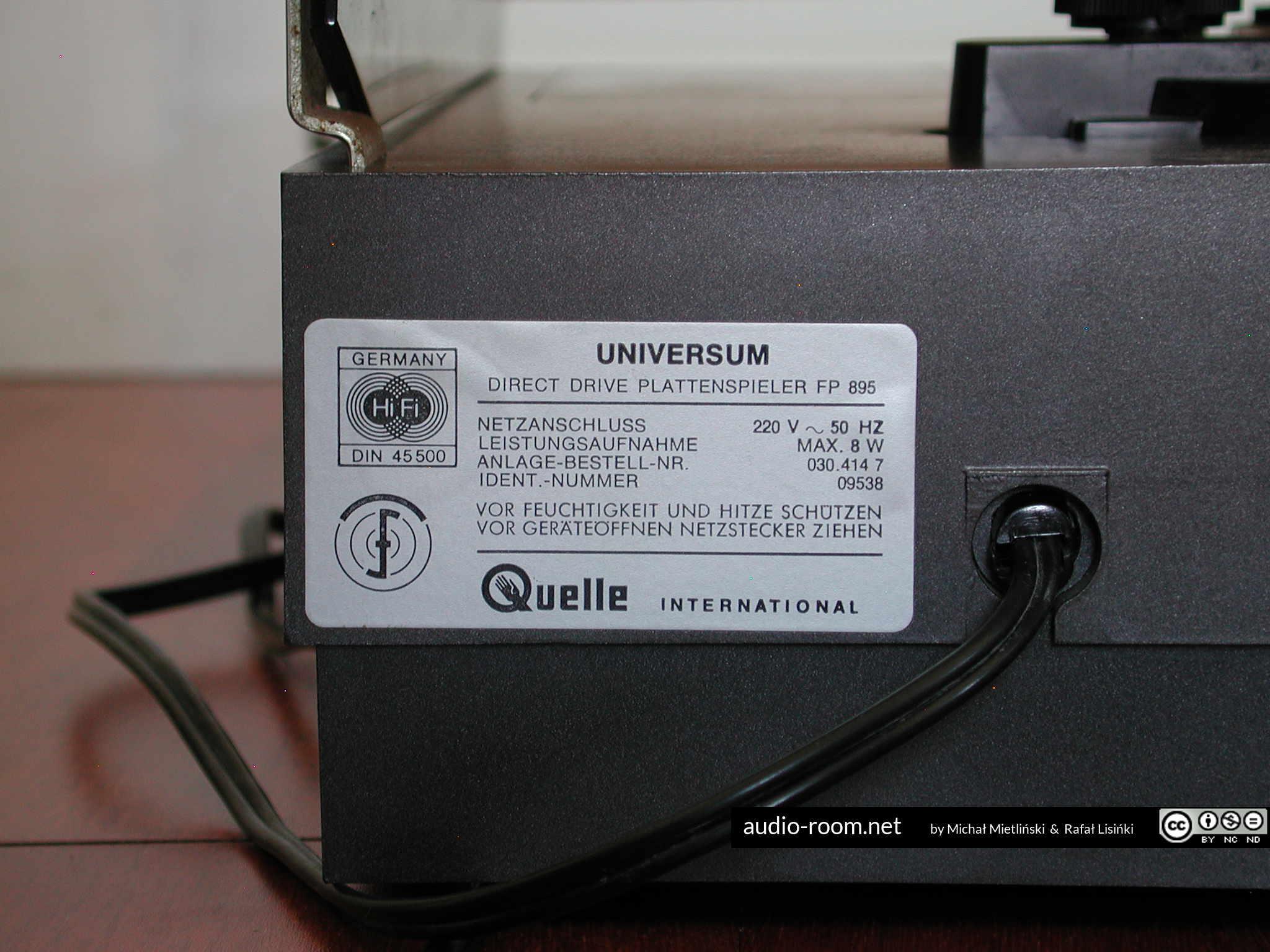 universum-fp-895-b-dscn4358