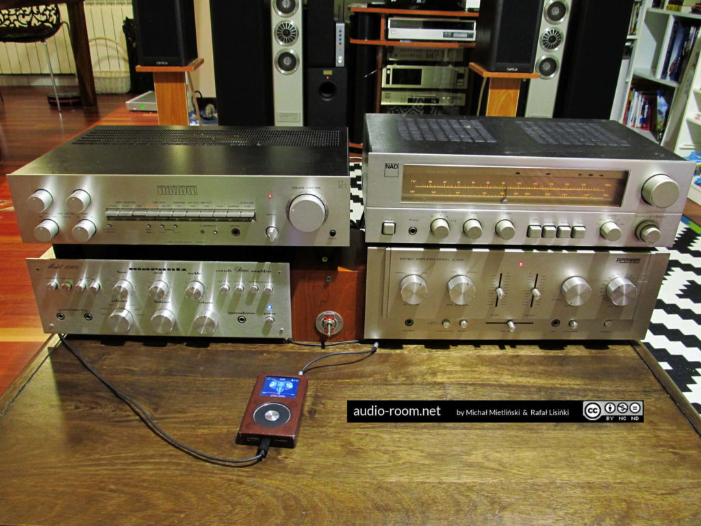 Luxman L-5: amplifier adjustment and testing |