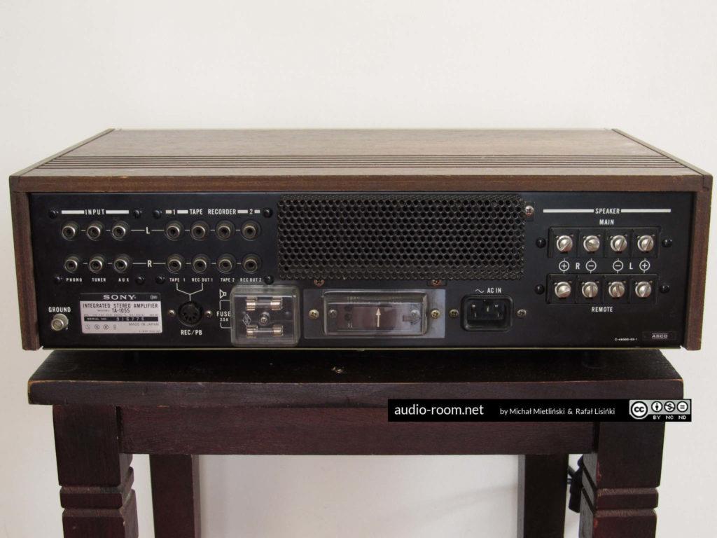 SONY TA-1055 - tylny panel